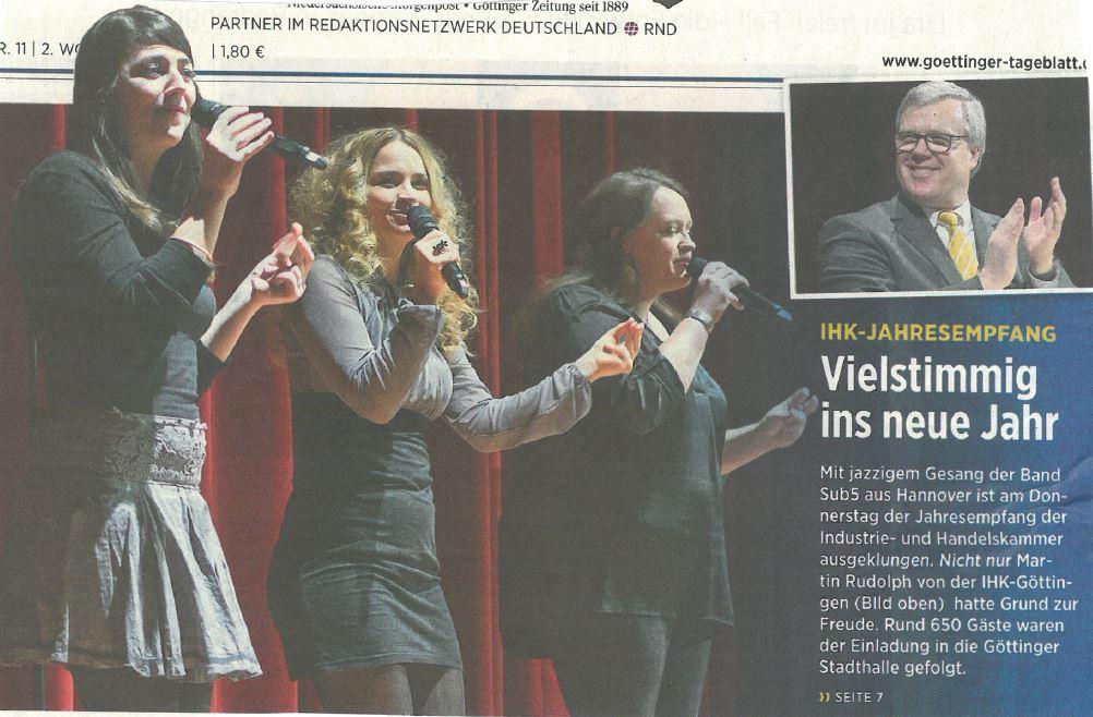 17-01-13 Göttinger Tageblatt